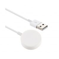Apple - MKLG2AM/A (A1768) Magnetic Charge Cable - 1m -  Apple Watch - White