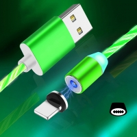 Cyoo - Flow Light Magnetic -  Typ C Cable 1m - Green