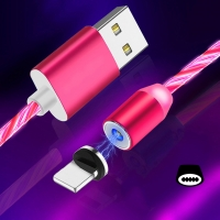 Cyoo - Flow Light Magnetic -  Typ C Cable 1m - Pink
