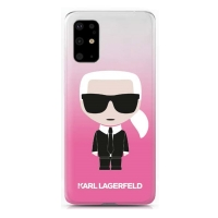 Karl Lagerfeld - Iconic Case -  Samsung G985F Galaxy S20+ - Pink