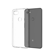 Cyoo - Ultra slim - silicon Case - Google Pixel 3 - Transparent