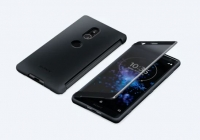 Sony - SCSH40 - Style Cover TouchCase - Xperia XZ2 - Black