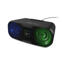 KitSound - Slam XL Bluetooth Party Light Speaker - Black