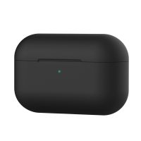 Cyoo - Premium Silicon Cover - Apple AirPods Pro - Black