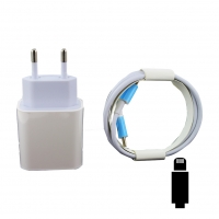 Cyoo - PD01 - 18W Charger  + Typ C to  Lightning cable  - white
