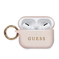 Guess - Apple Airpods Pro - Silicon Cover Ring - pink