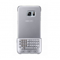 Samsung - EJ-CG928 Keyboard  Case - G928F Galaxy S6 Edge Plus - Silver