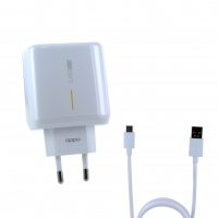 OPPO - SuperVooc Quick Charger+ Cable Typ-C -  6.5A - white