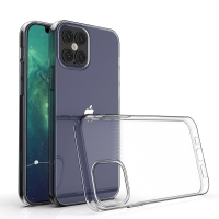 Cyoo - Ultra Slim Silicon Case - iPhone 12 Pro Max (6.7 Zoll) - Transparent