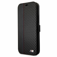 BMW - M-Collection Stripe - Bi-Material - iPhone 12 Pro Max (6.7) - black - Original Wallet