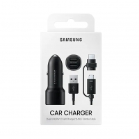 Samsung - EP-L1100 - Adapter + Micro USB - 15W - black - Car Charger
