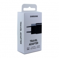 Samsung - EP-TA20EBE USB Adapter -without  cable - black