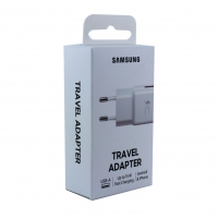 Samsung - EP-TA20EWE USB Adapter -without  cable - white