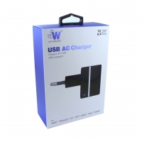 JW JUST WIRELESS - Original - quick charger - 2.4Amper - black