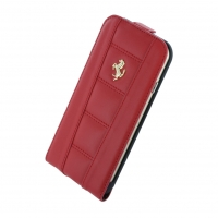 Ferrari - 458 Collection - Leather Flip Cover/Case - Apple iPhone 6