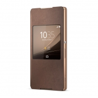 Sony - SCR30  - Style Cover - Book Cover /  S-View Case - Xperia Z3 Plus
