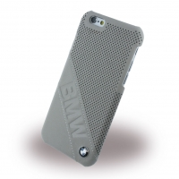 BMW - BMHCP6LDLT Slanted Logo - Perforated Leather - Hard Cover - Apple iPhone 6/6s