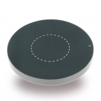Cyoo - Premium Quick Wireless Charge Pad - Silver