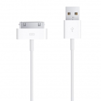 Apple - MA591G - Data Cable - 30pol to USB - 1m - iPhone 4, 4S