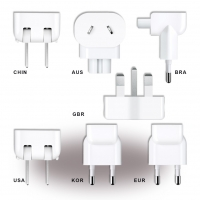 Apple - MD837ZM/A - World Travel Adapter Set