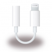 Apple - MMX62ZM/A - Headphone Connector / Adapter - Lightning to 3.5mm