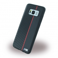 BMW - Carbon + Leatherette Phone Case - Samsung G950F Galaxy S8