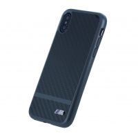 BMW M - Carbon Aluminium Stripe - Hardcover - Apple iPhone X