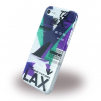 Benjamins - BJ7AIRLAX AirPort LAX (Los Angeles) - Silicone Cover / Phone Skin - Apple iPhone 7, 8