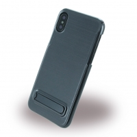 Burshed Stand - Hard Cover - Apple iPhone X