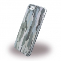 Cerruti 1881 - Camouflage CEHCP7CAGR - Silikon Cover - Apple iPhone 7, 8