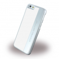 Corvette - COHCP6LMEWH - Silver Brushed Aluminium - Hard Cover / Case / Schutzhülle - Apple iPhone 6 Plus, 6s Plus