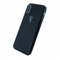 Ferrari - Heritage Carbon - Hardcover - Apple iPhone X