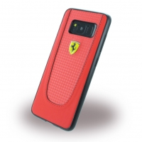 Ferrari - Pit Stop - Carbon Hardcover - Samsung G950F Galaxy S8