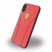 Ferrari - Scuderia Carbon - Hardcover - Apple iPhone X