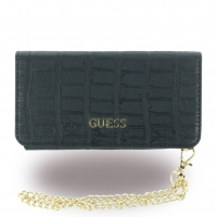 Guess - Croco GUCLTP6MCOBK - Clutch / Book Cover / Tasche - Apple iPhone 6, 6s