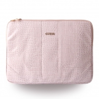 Guess - Croco GUCS15SCOBE - Notebook Pouch / Tablet Sleeve - 15 Inch Tablets