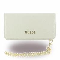 Guess - Saffiano GUCLTP6TBE - Clutch / Book Cover / Handyhülle - Apple iPhone 6, 6s