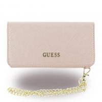 Guess - Saffiano GUCLTP6TRO - Clutch / Book Cover / Handyhülle - Apple iPhone 6, 6s