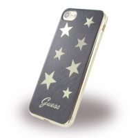 Guess - Stars GUHCP7STABK - Silikon Cover - Apple iPhone 7