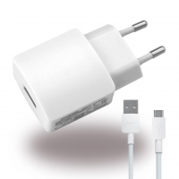Huawei - HW-050200E3W / E01 - Charger / Adapter + Cable - USB - 2000mA
