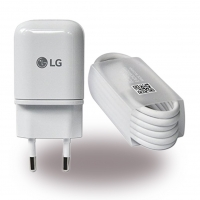 LG Electronics - MCS-H05 - USB Charger + Data Cable USB Type C to Micro-USB