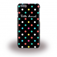 Little Marcel - Noir Pois - Hard Cover - Apple iPhone 6, 6s