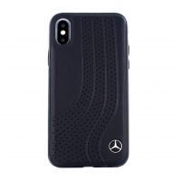 Mercedes-Benz - Bow I - Leather Hard Cover - Apple iPhone X, XS
