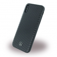 Mercedes Benz - Dynamic - Carbon Hardcover - Apple iPhone X