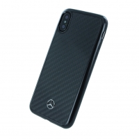 Mercedes Benz - Carbon Hardcover - Apple iPhone X