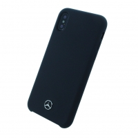 Mercedes Benz - Silicone Fiber - Silikon Cover - Apple iPhone X