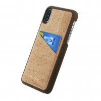 Pelcor - Cork Card Phone Case - Apple iPhone X