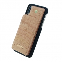 Pelcor - Cork Flip Hard Case - Apple iPhone X