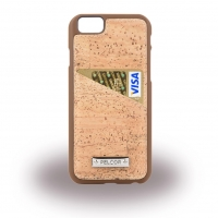 Pelcor - Cork Card Phone Case - Apple iPhone 7 Plus, 8 Plus