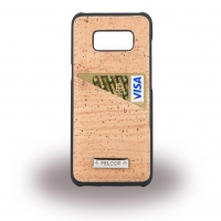 Pelcor - Cork Card Phone Case - G955F Galaxy S8 Plus